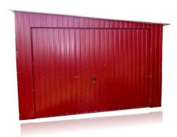 Akrilinis garažas 4m x 7m Nuolydis į dešinę