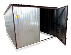 Cinkuotas skardinis garažas 3m x 5m I rūšis